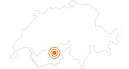 Ausflugsziel Kinderzug Orient-Express in Unterbäch Rund um Visp: Position auf der Karte