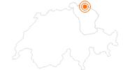 Ausflugsziel Schloss Arenenberg mit Napoleonmuseum in Thurgau: Position auf der Karte