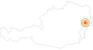 Ausflugsziel Schloss Esterházy Eisenstadt am Neusiedler See: Position auf der Karte