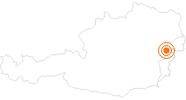 Ausflugsziel Burg Forchtenstein im Sonnenland Mittelburgenland: Position auf der Karte