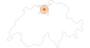 Ausflugsziel Schloss Wildegg in Aargau: Position auf der Karte