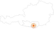 Ausflugsziel Minimundus Klagenfurt in Klagenfurt: Position auf der Karte