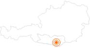 Ausflugsziel Klagenfurter Dom St. Peter und Paul in Klagenfurt: Position auf der Karte