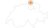 Ausflugsziel Festung Munot in Schaffhausen in Schaffhausen: Position auf der Karte