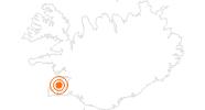 Tourist Attraction Aurora Reykjavík Northern Lights Center in Reykjavik: Position on map
