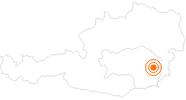 Ausflugsziel Tierwelt Herberstein im Thermenland Steiermark: Position auf der Karte