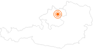 Ausflugsziel Zoo Linz in Donau Oberösterreich: Position auf der Karte
