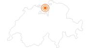 Ausflugsziel Legionärspfad Vindonissa / Windisch in Aargau: Position auf der Karte