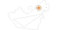 Ausflugsziel Dubai Frame in Dubai: Position auf der Karte