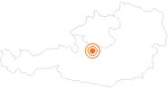 Ausflugsziel Dachstein Rieseneishöhle im Dachstein Salzkammergut: Position auf der Karte