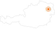Ausflugsziel Sommerrodelbahn Hohe-Wand-Wiese Wien in Wien: Position auf der Karte