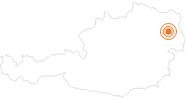 Ausflugsziel Wasserspielplatz auf der Donauinsel in Wien in Wien: Position auf der Karte