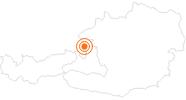 Ausflugsziel Schloss Klessheim in Salzburg in Salzburg & Umgebungsorte: Position auf der Karte