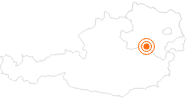 Ausflugsziel Kameltheater & Weißer Zoo Kernhof im Mostviertel: Position auf der Karte