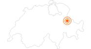 Ausflugsziel Taminaschlucht in St. Gallen: Position auf der Karte