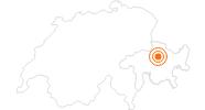 Ausflugsziel Arosa Bärenland in Arosa: Position auf der Karte