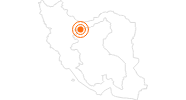 Ausflugsziel Golestanpalast Teheran in Teheran: Position auf der Karte