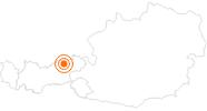 Ausflugsziel Tiefenbachklamm im Alpbachtal Seenland: Position auf der Karte