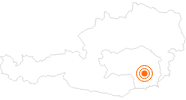 Tourist Attraction Universal museum Joanneum – Arsenal museum in Region Graz: Position on map