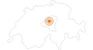 Ausflugsziel Cabrio-Bahn am Stanserhorn in Nidwalden: Position auf der Karte