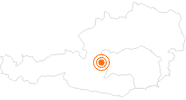 Ausflugsziel Bogen Ranch Bruno - Bogenschießen in Schladming in Schladming-Dachstein: Position auf der Karte