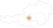 Ausflugsziel Nickelmuseum Hopfriesen in Schladming-Dachstein: Position auf der Karte