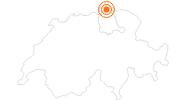Ausflugsziel Rheinfall bei Schaffhausen in Schaffhausen: Position auf der Karte