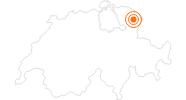 Ausflugsziel Stiftsbibliothek St. Gallen in St. Gallen: Position auf der Karte