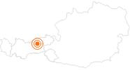 Ausflugsziel Wolfsklamm bei Stans in der Silberregion Karwendel: Position auf der Karte