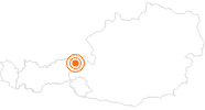 Ausflugsziel Pony Alm - Astbergsee Going Wilder Kaiser: Position auf der Karte