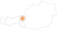 Ausflugsziel Timoks Alpine Coaster in Fieberbrunn im Pillerseetal: Position auf der Karte
