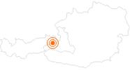 Ausflugsziel Waldwellnes-Weg auf der Reiteralm in Saalbach-Hinterglemm in Saalbach-Hinterglemm: Position auf der Karte