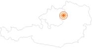 Ausflugsziel Burg Clam im Mühlviertel: Position auf der Karte