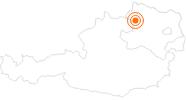Ausflugsziel Burg Rappottenstein im Waldviertel: Position auf der Karte