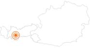 Ausflugsziel Steinbockzentrum St. Leonhard im Pitztal im Pitztal: Position auf der Karte