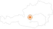 Ausflugsziel Flying Coaster Gröbming in Schladming-Dachstein: Position auf der Karte