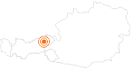 Ausflugsziel Erlebnisberg Markbachjoch in Wildschönau: Position auf der Karte