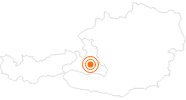 Tourist Attraction Geisterberg Adventure Mountain - St. Johann / Alpendorf Salzburg's world of sport: Position on map