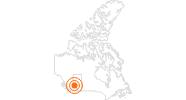 Ausflugsziel Jasper SkyTram im Jasper-Nationalpark: Position auf der Karte