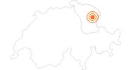 Ausflugsziel Kronberg Bobbahn im Appenzellerland: Position auf der Karte