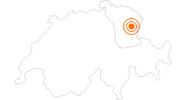 Ausflugsziel Kronberg Schlittelweg im Appenzellerland: Position auf der Karte