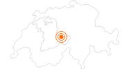 Tourist Attraction Ballenberg Open-Air Museum in Interlaken: Position on map