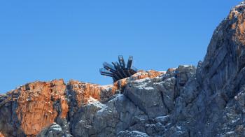Die Aussichtsplattform 5fingers bietet Adrenalinkicks auf höchstem Niveau.