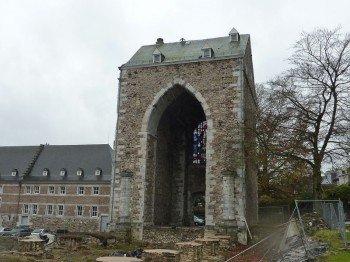 Ruine der Klosterkirche aus dem 11. Jahrhundert