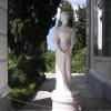 Eine Sisi Statue am Achilleion