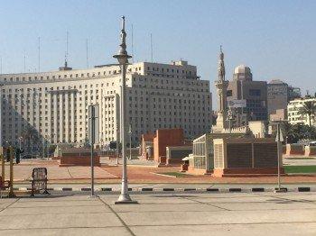 Der Tahrir-Platz im Zentrum von Kairo