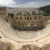 Blick ins Dionysos Theater.