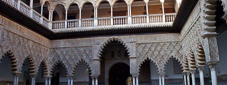 Innenansicht des Real Alcázar de Sevilla