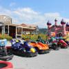 Auch kleine Rennfahrer werden in dem Spielepark fündig.
