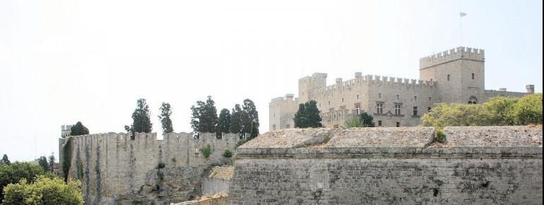 Der Großmeisterpalast von Rhodos